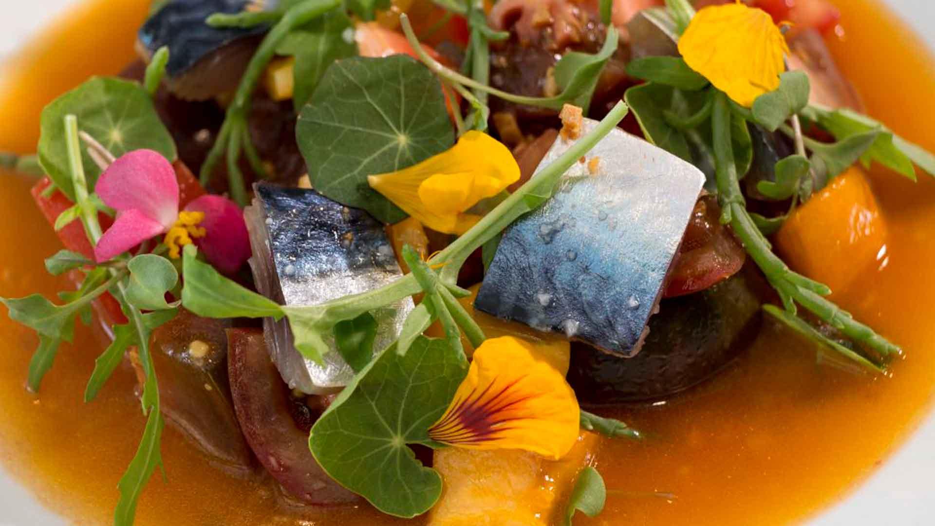 Ajoblanco: cocina española con ingredientes mexicanos