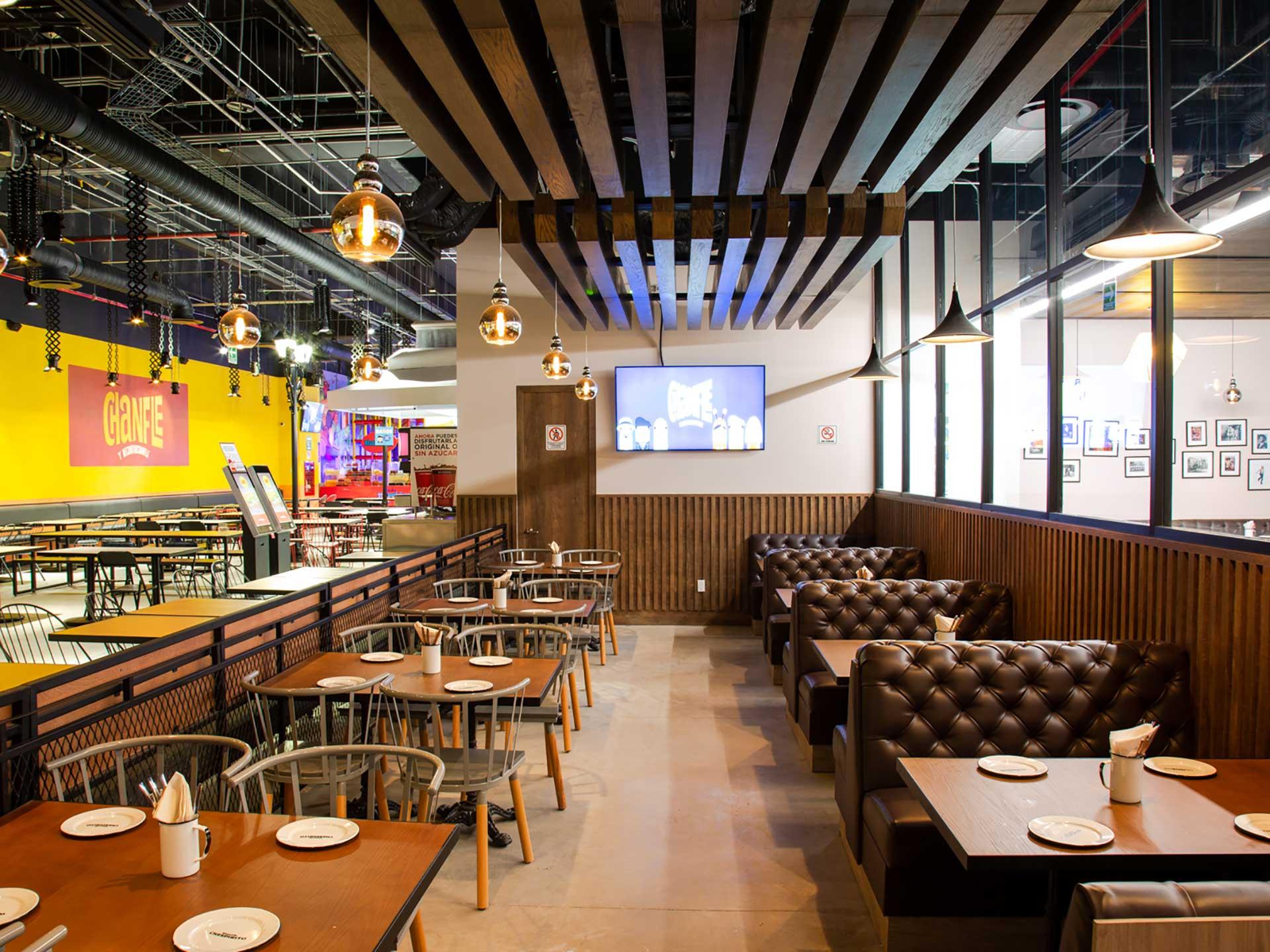 restaurante Chanfle y Recontrachanfle