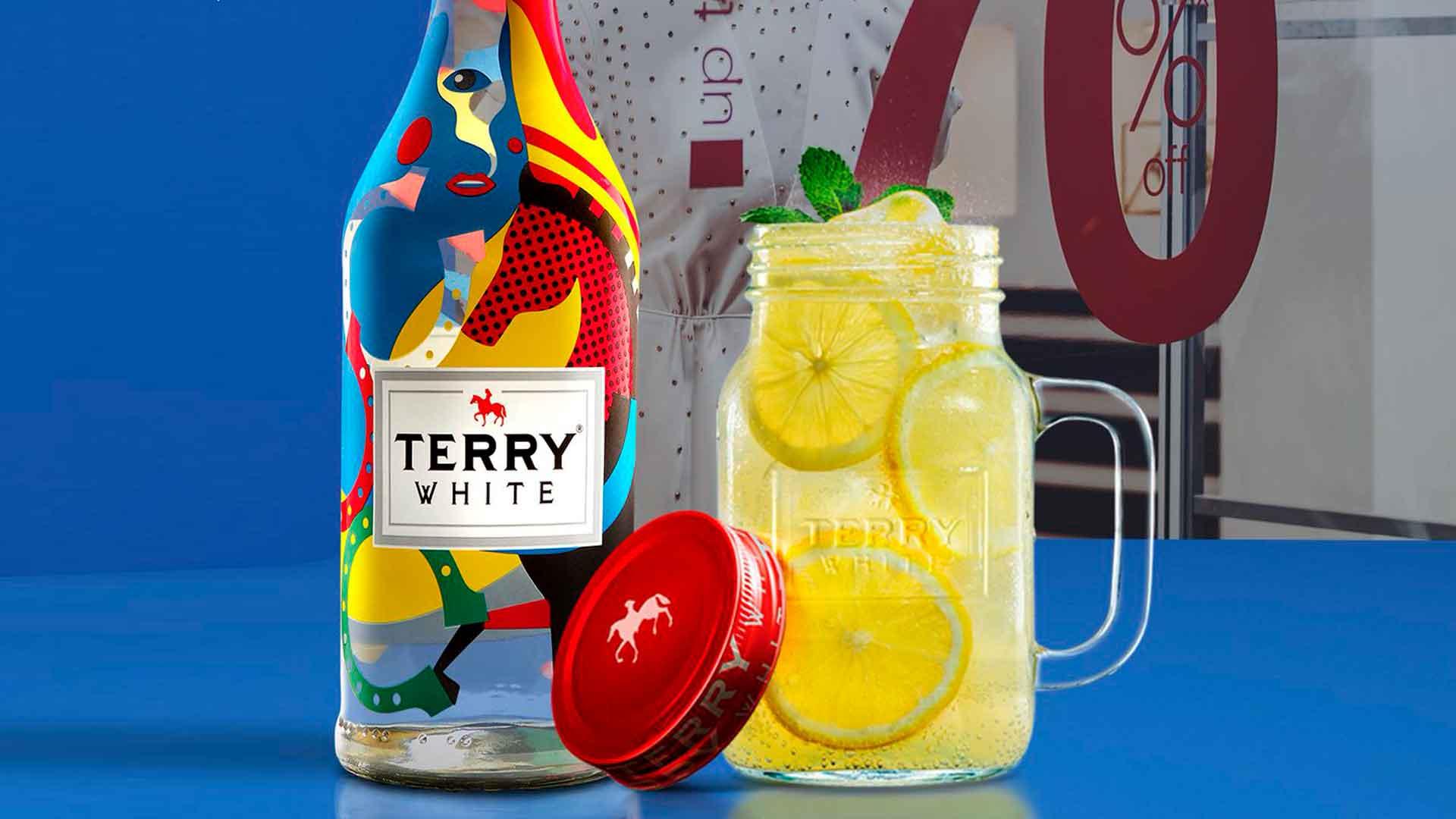 Terry White: el primer brandy blanco