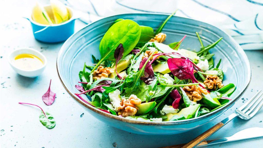 Recetas de deliciosas ensaladas, ¡prepáralas!