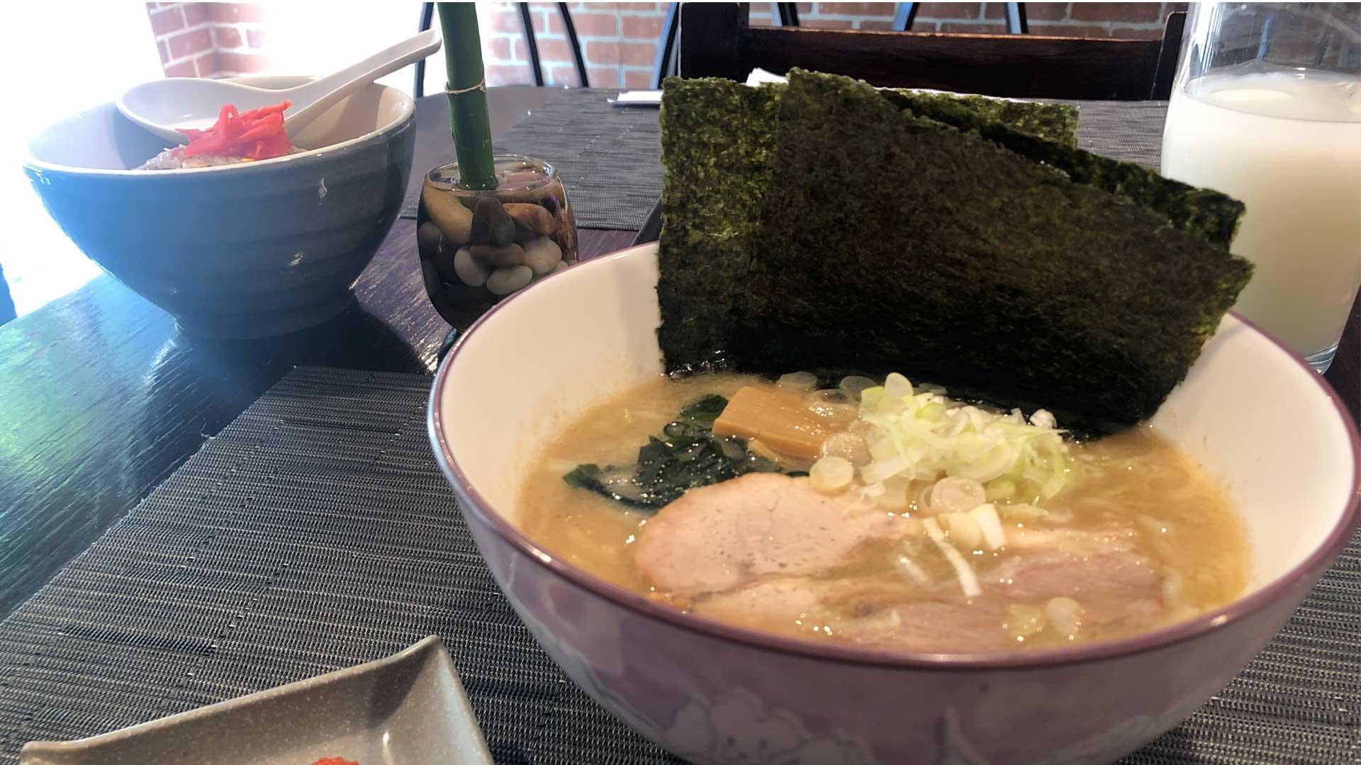 Para ramen… ¡El del restaurante Mukyu!
