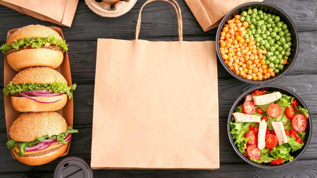 Restaurantes con entrega a domicilio y para llevar