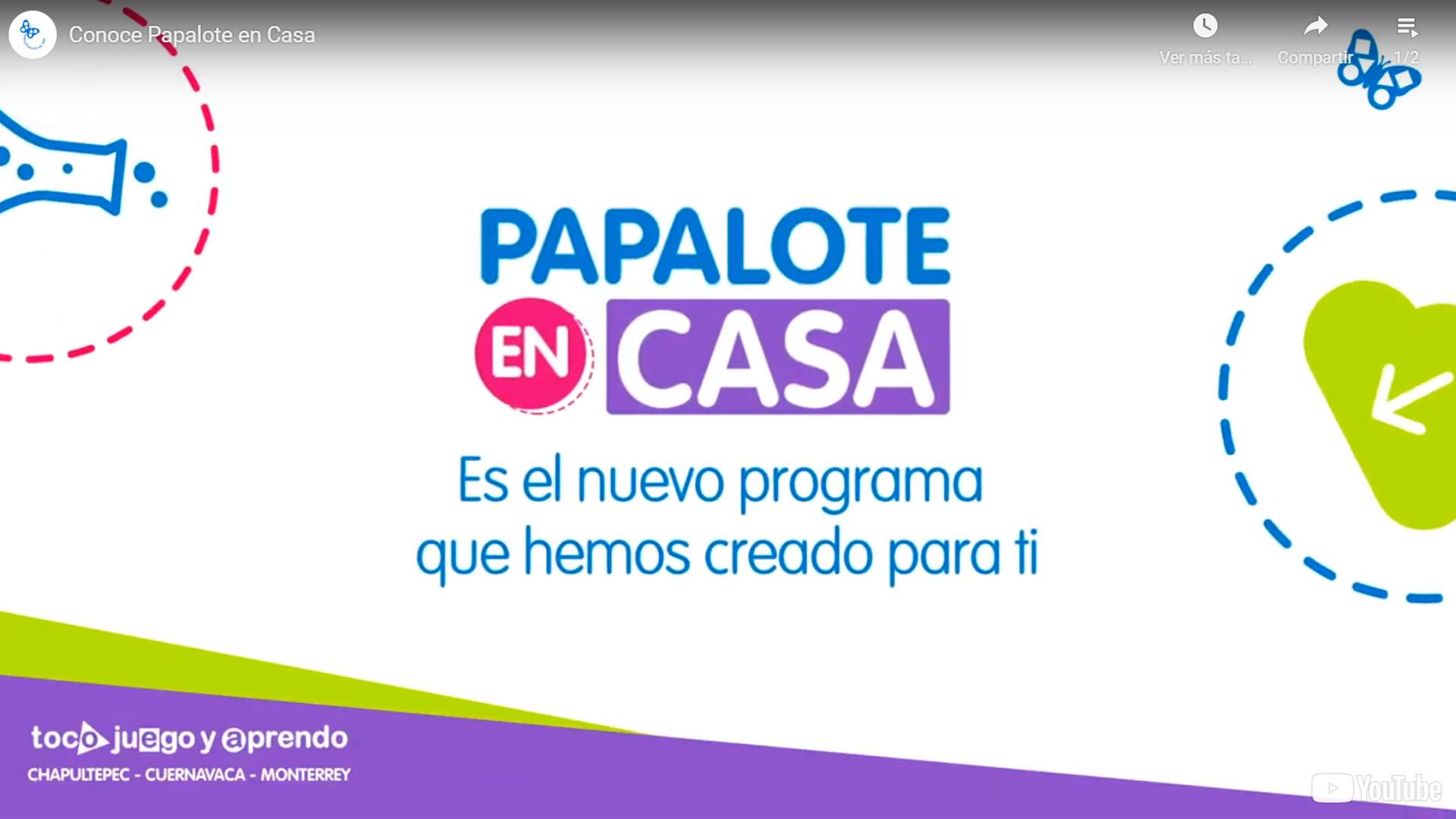 Actividades digitales para niños Papalote Museo