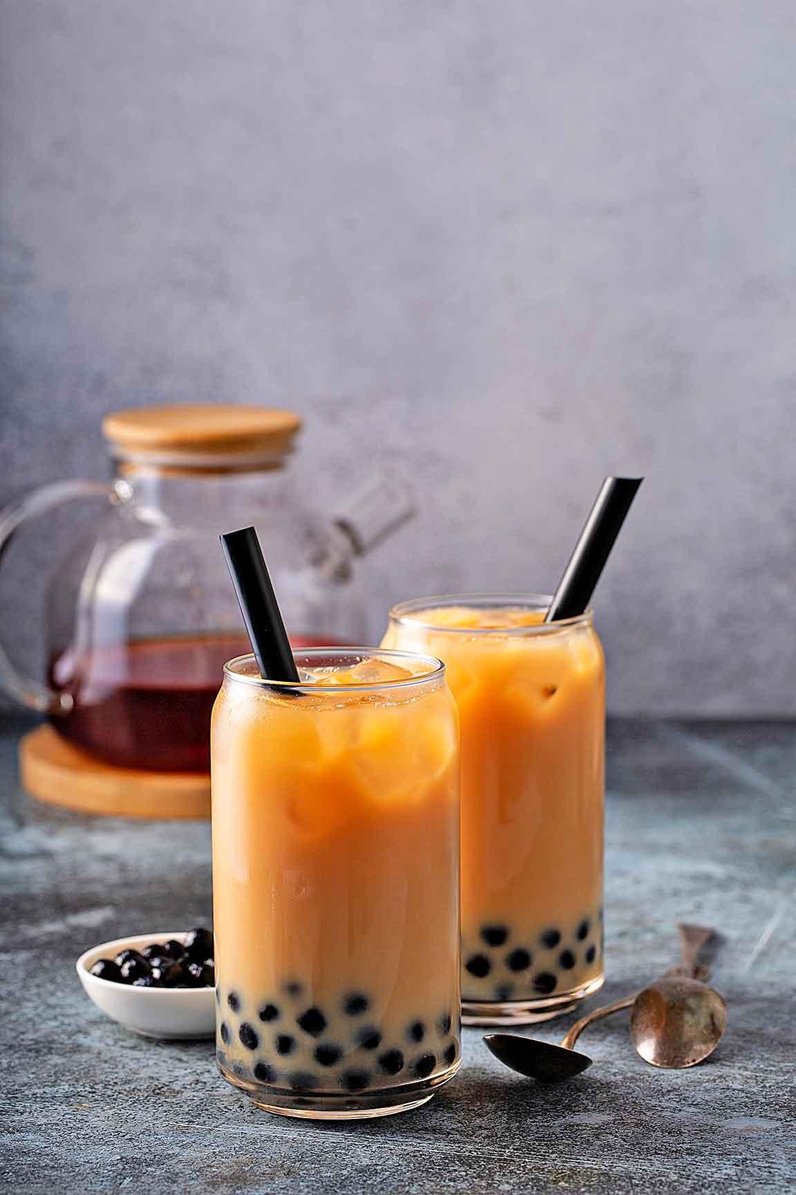 Bubble tea para dos