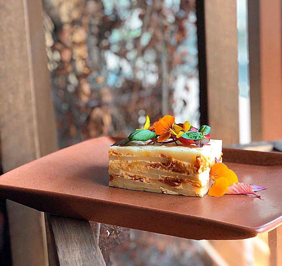 Recetas del chef Carlos Gaytán papa gratinada