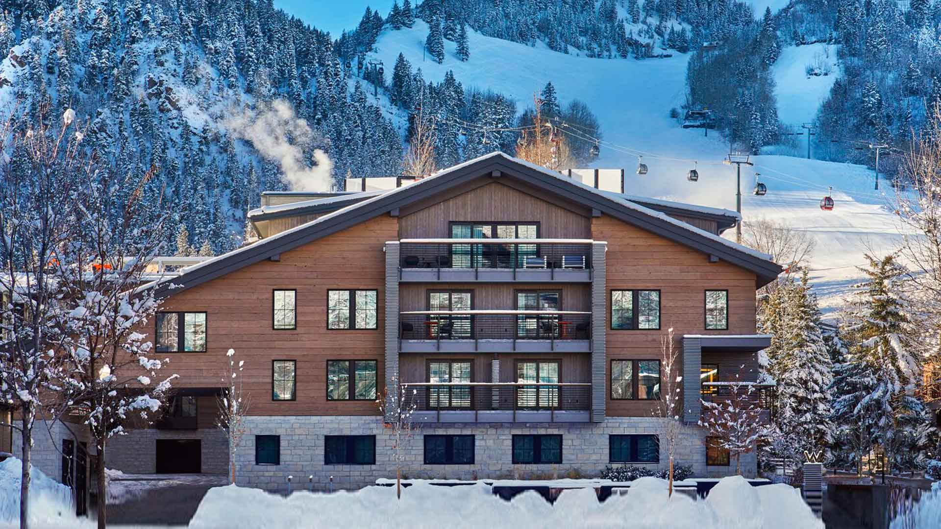 Hotel W Aspen: lujoso paraíso de montaña