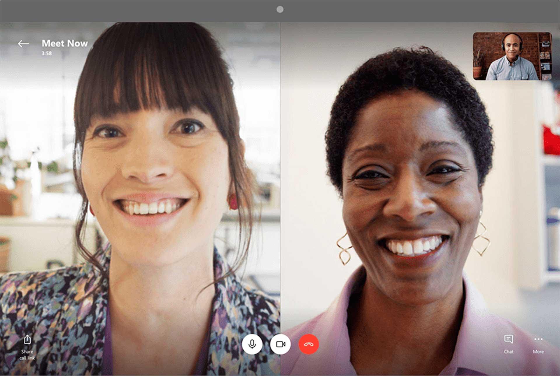 Aplicaciones video conferencias
