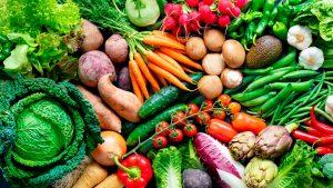 10 frutas y verduras de temporada para alimentarte sanamente