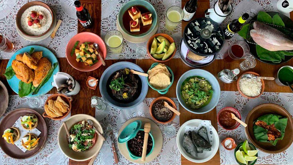 Menús completos de restaurantes para llevar