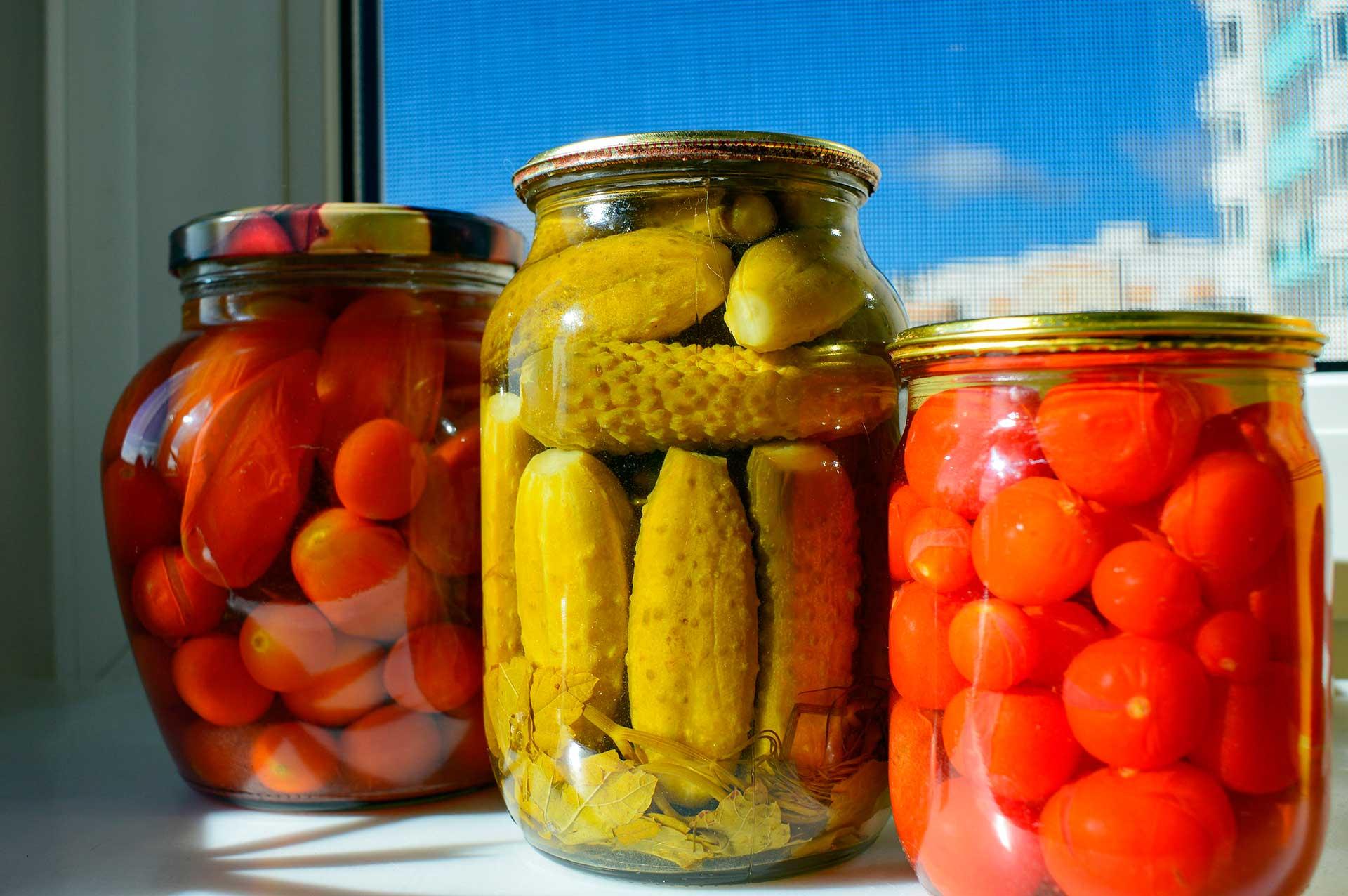 Cómo conservar alimentos en casa