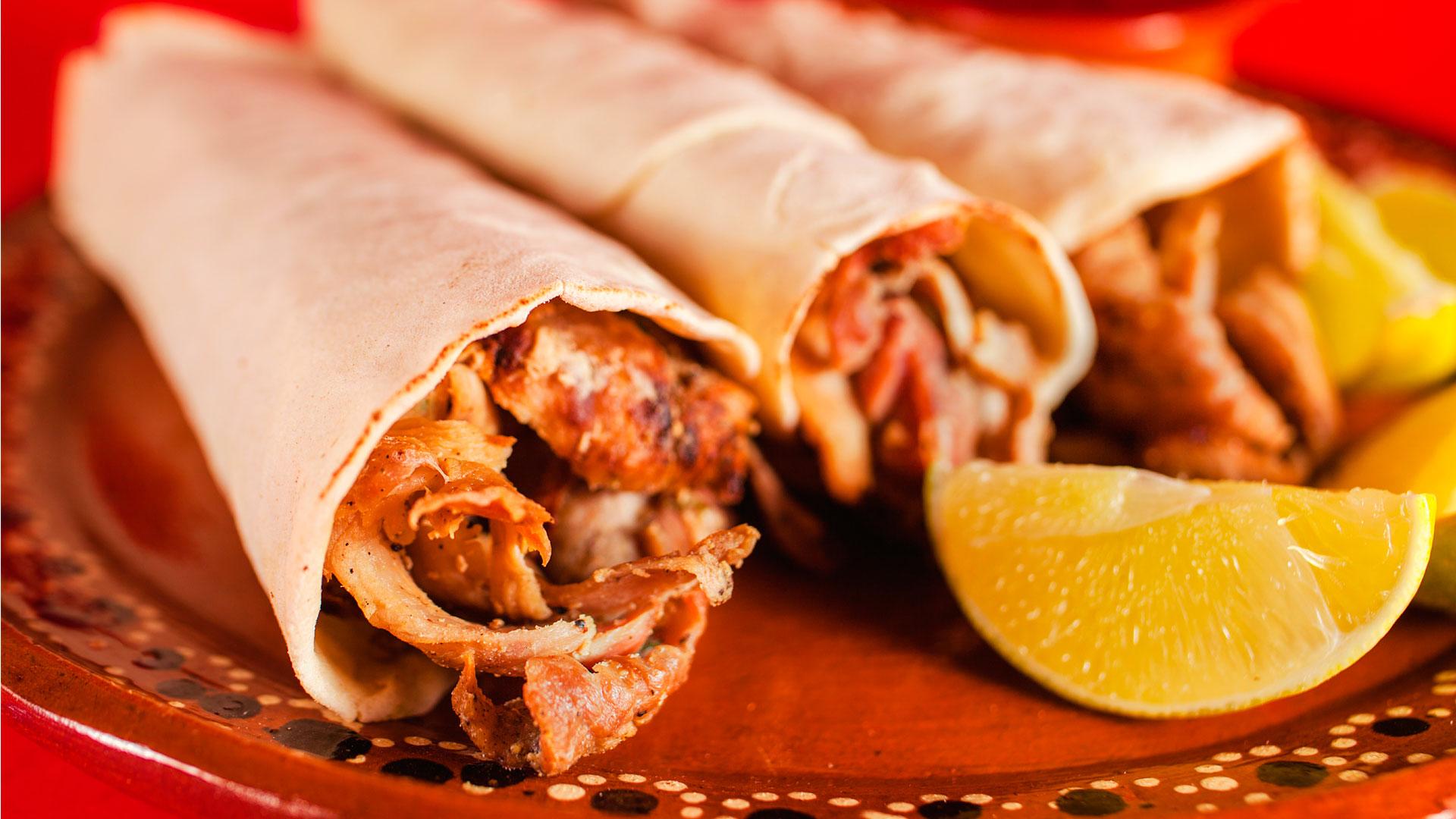 Receta de tacos árabes de carne y vegetarianos del chef Alan Sánchez