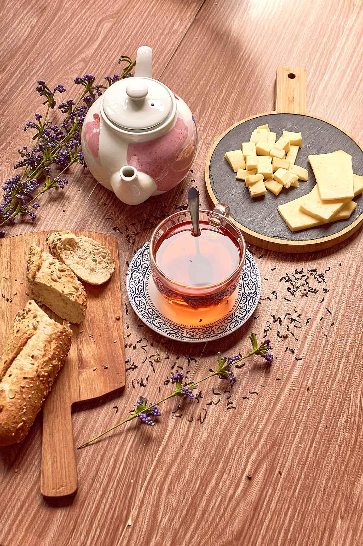 queso y té