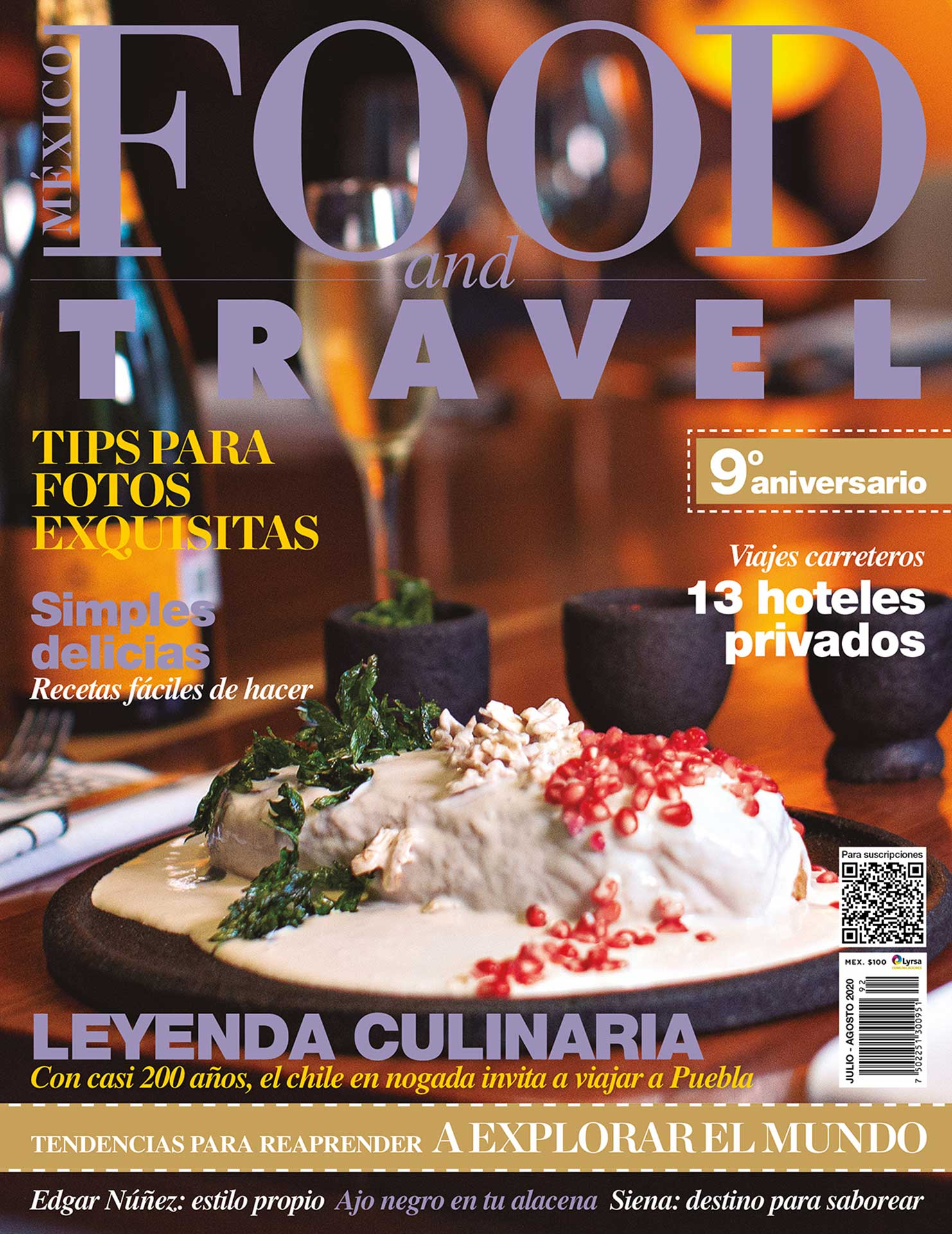 Portada Food and Travel 98