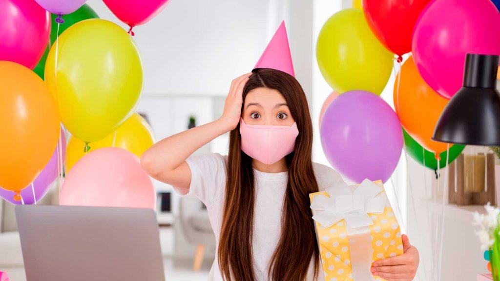 Guía para celebrar tu cumpleaños en cuarentena