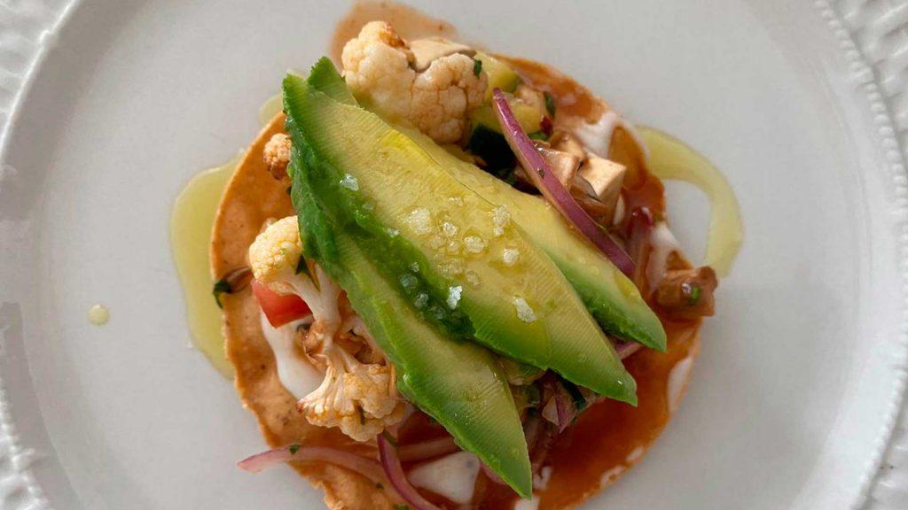 Receta de ceviche vegetariano de la chef Adria Marina