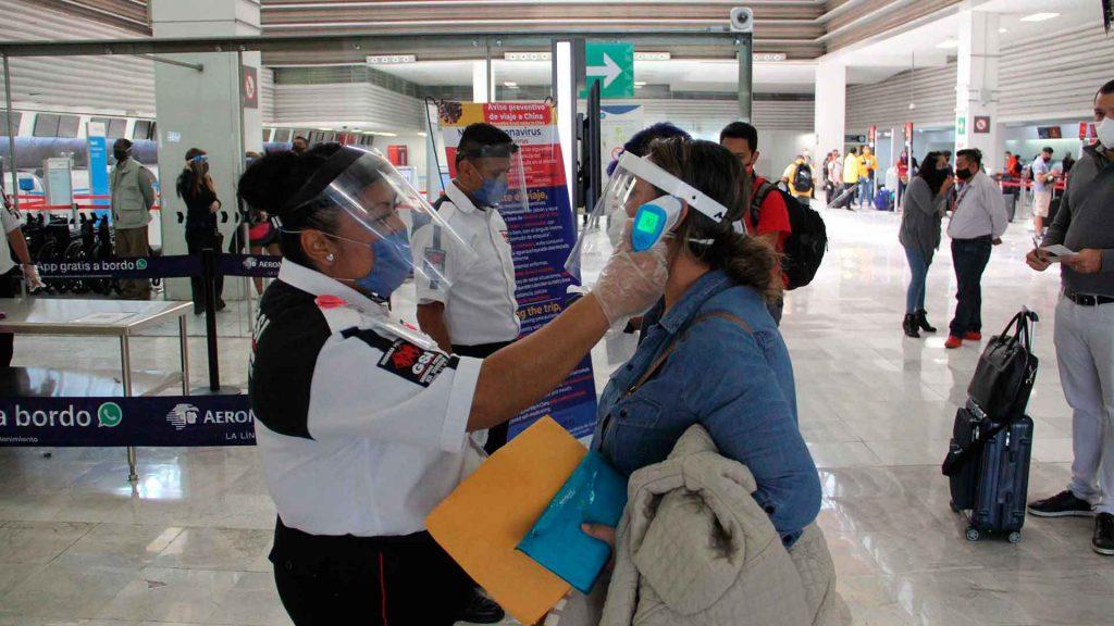 ¿Qué medidas están tomando los aeropuertos ante la pandemia?