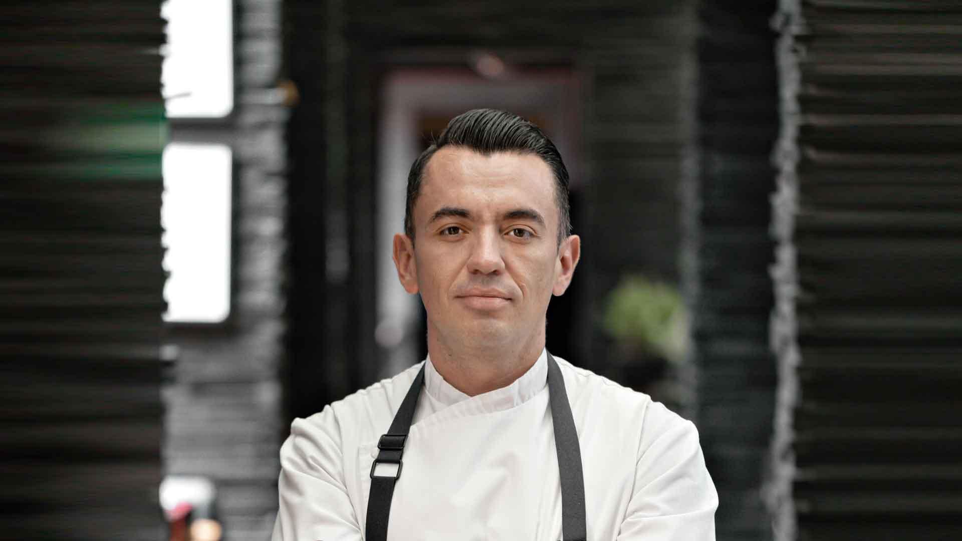Chef Édgar Núñez, mente en constante evolución