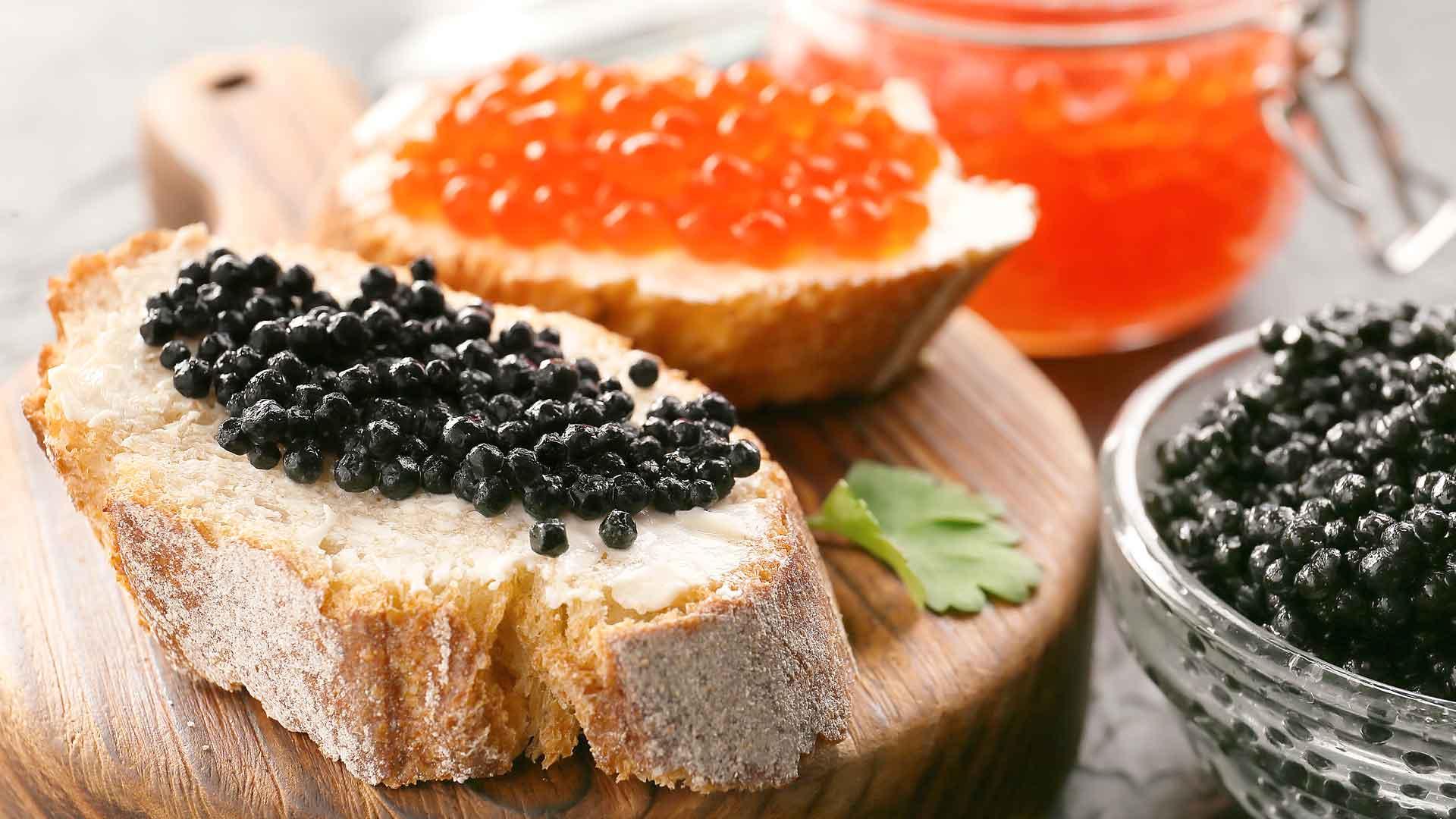 Hueva y caviar