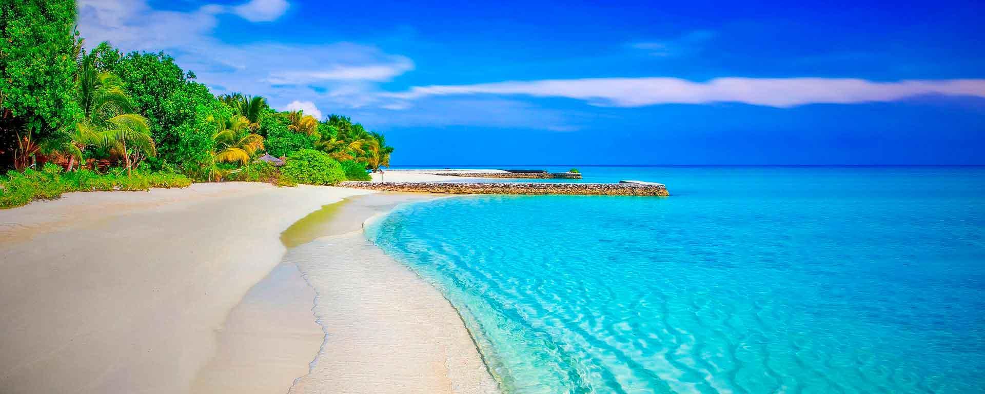 Playas mexicanas azúl
