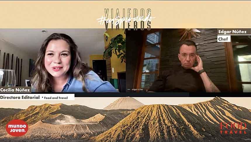 Viajeros inspirando viajeros, Édgar Núñez