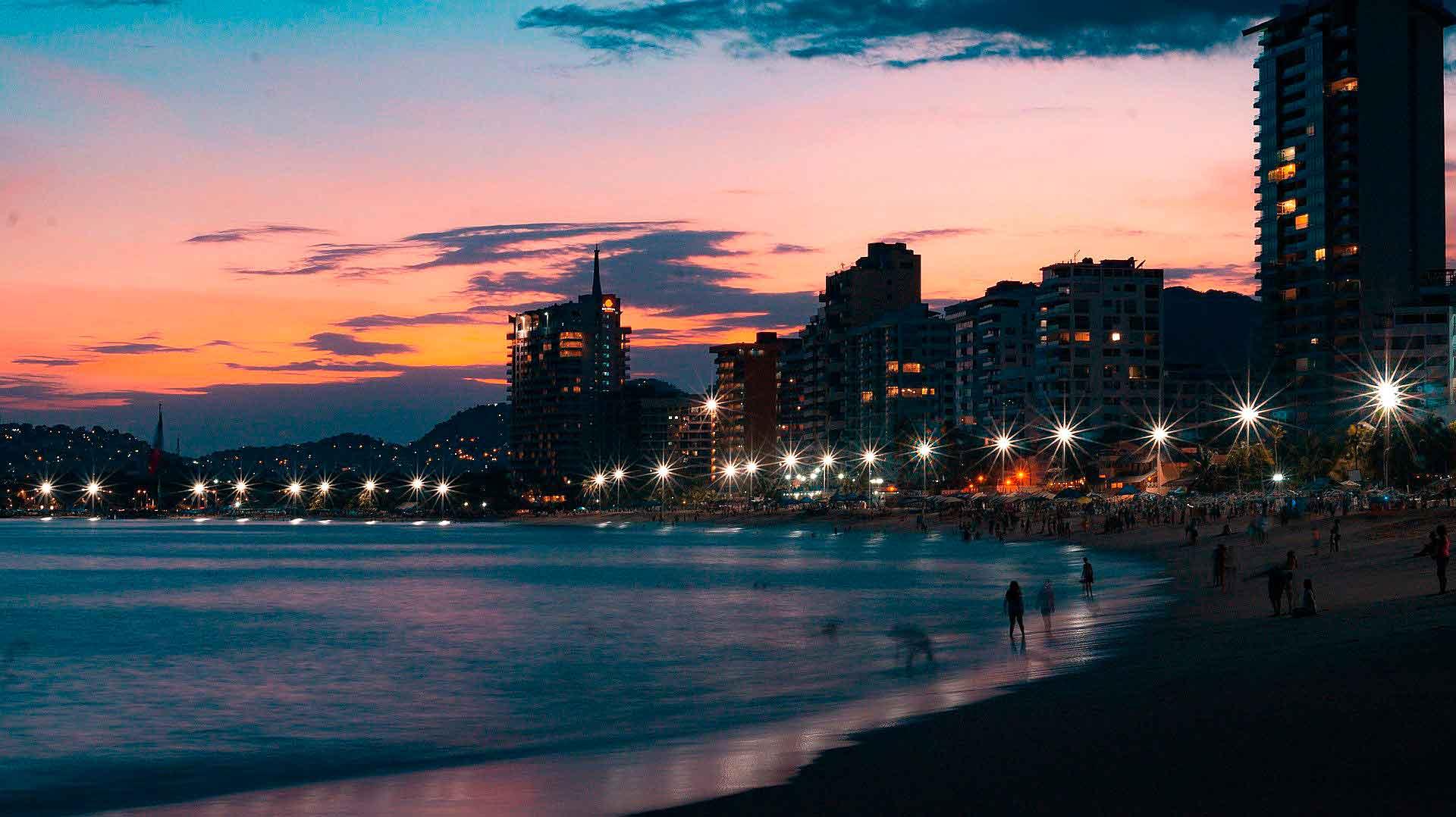 Playas mexicanas Acapulco