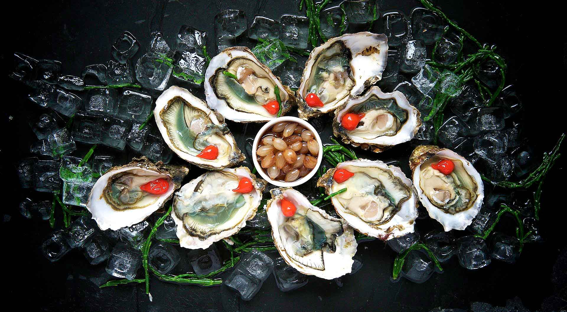 afrodisiacos oysters