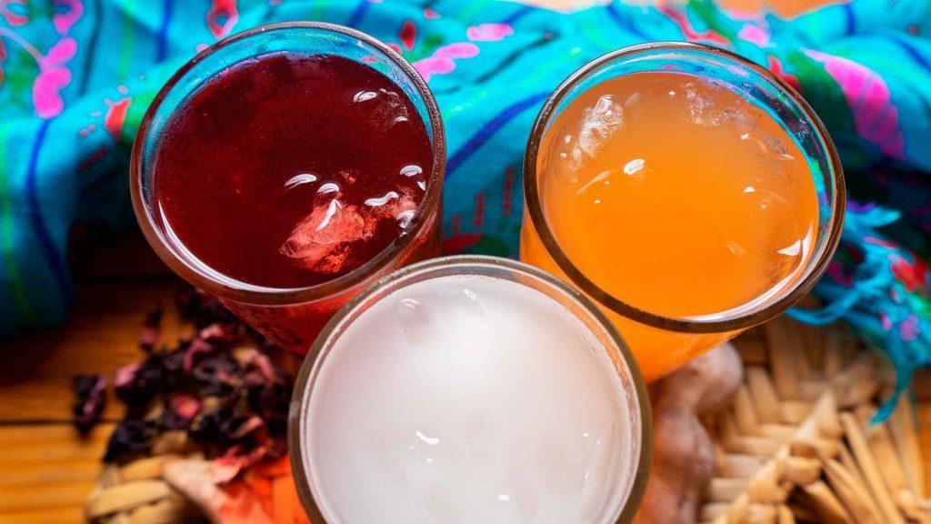 Prepara tres aguas tradicionales en casa