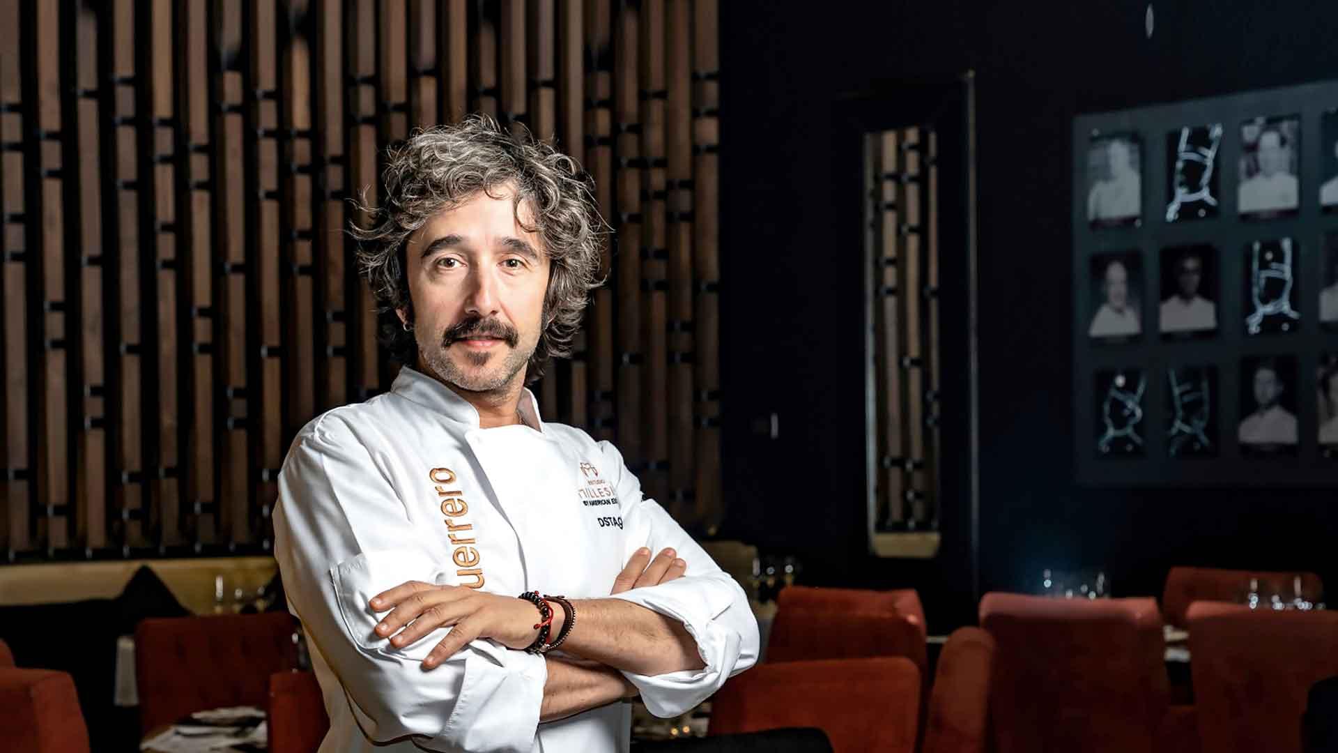 Chef Diego Guerrero, cocina creativa de estrellas Michelin