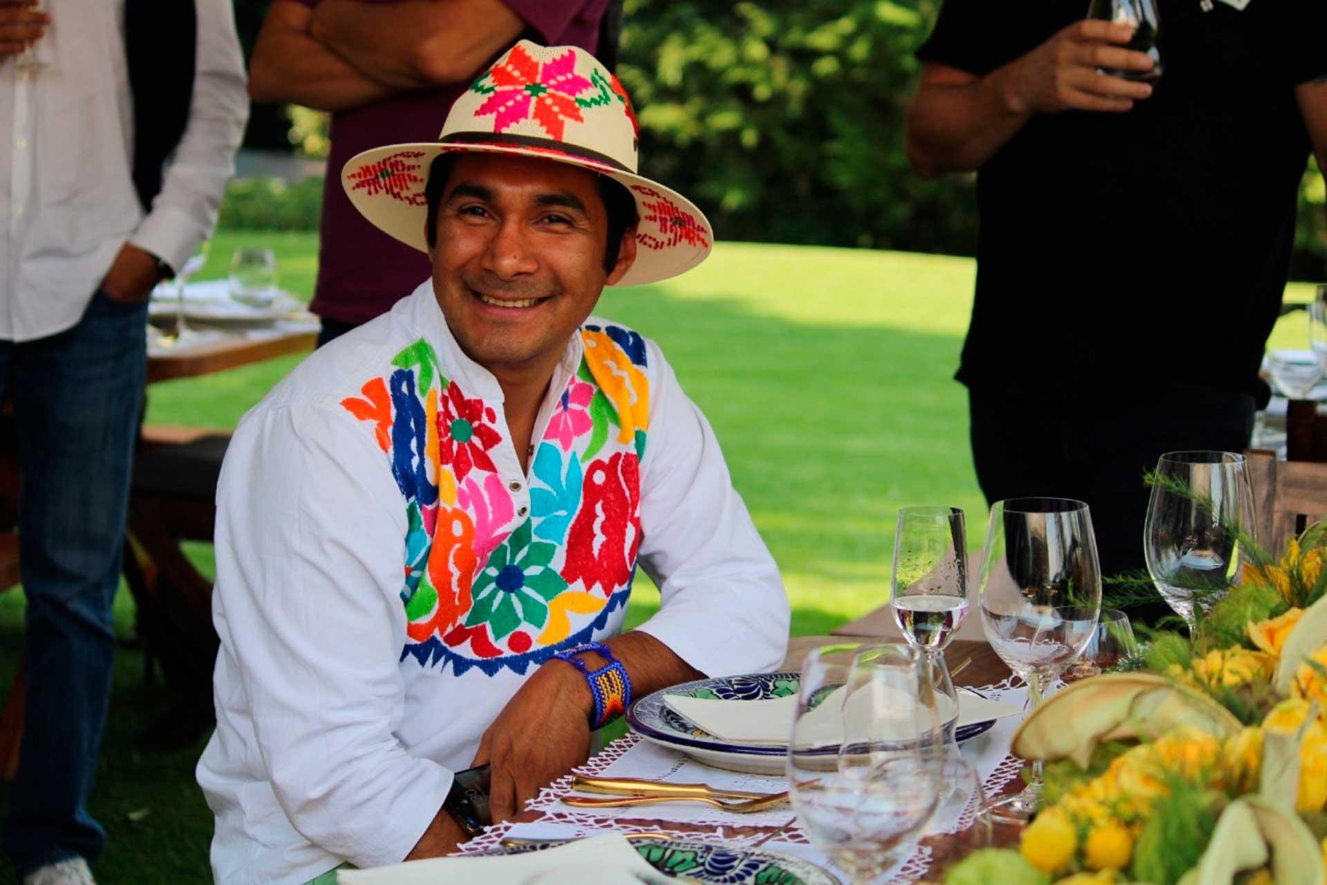 Chef Irad Santacruz