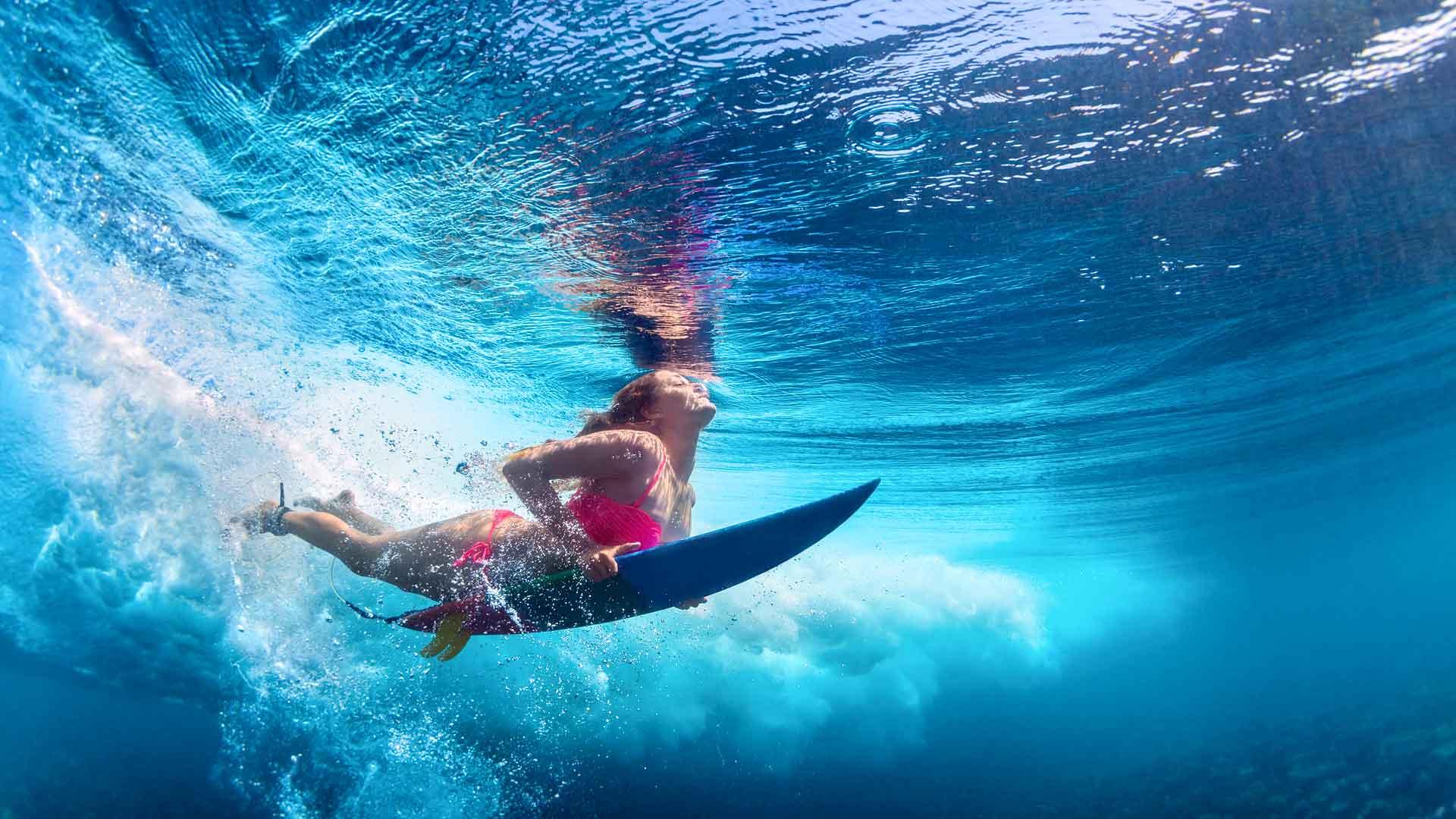 Deportes acuáticos para disfrutar del verano