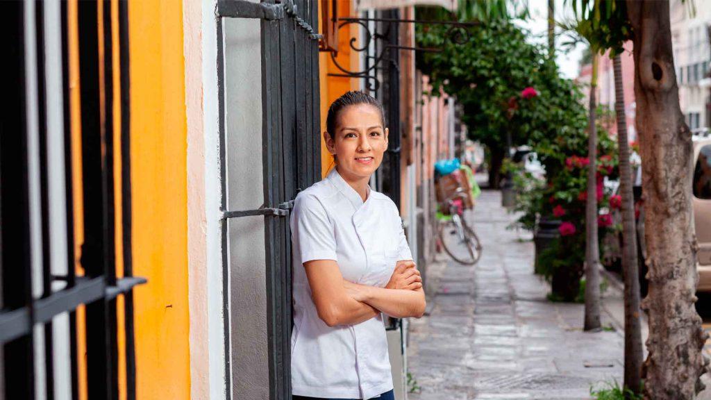Liz Galicia, referente de la cocina poblana