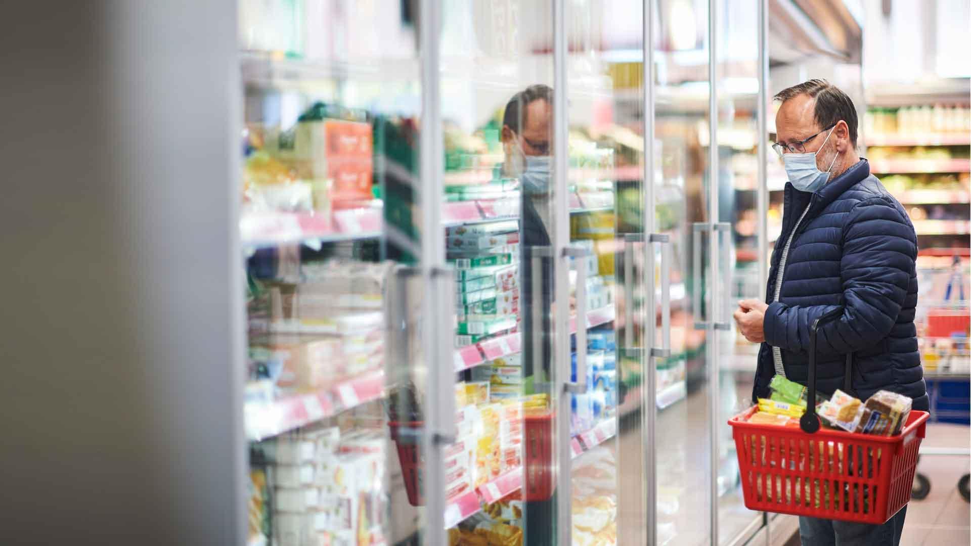 ¿Cómo evitar contagios cuando vas al supermercado?