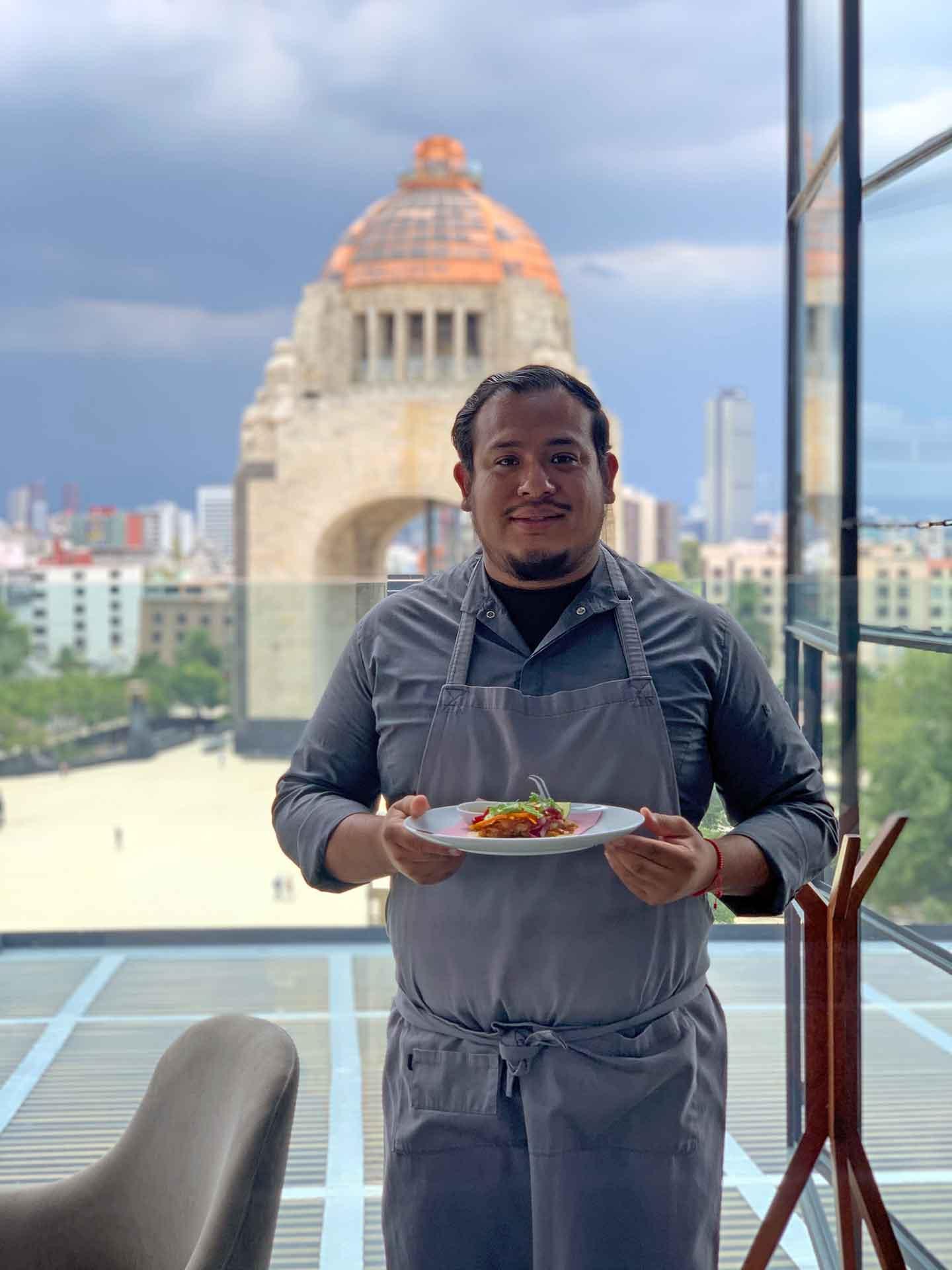 Chef Alejandro Cuatepotzo