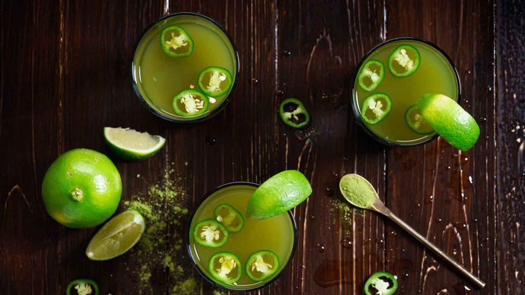 Té y destilados mexicanos