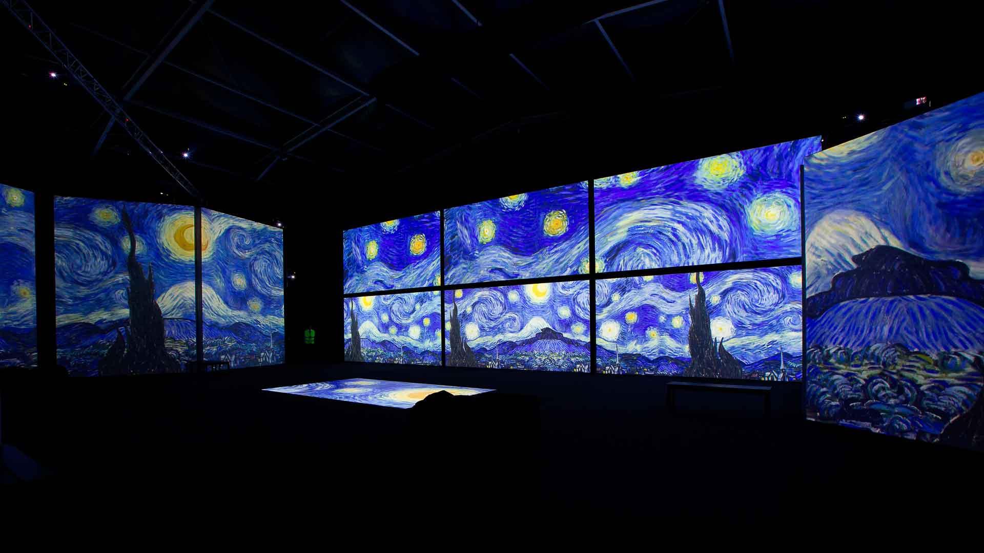 Van Gogh Alive The Experience reabre en Ciudad de México
