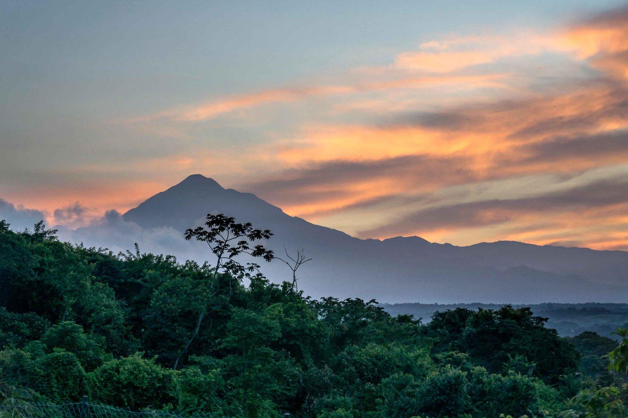 volcanes de México Tacaná
