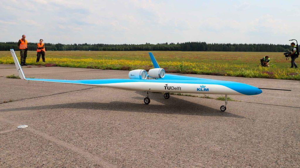 Flying-V: el avión del futuro