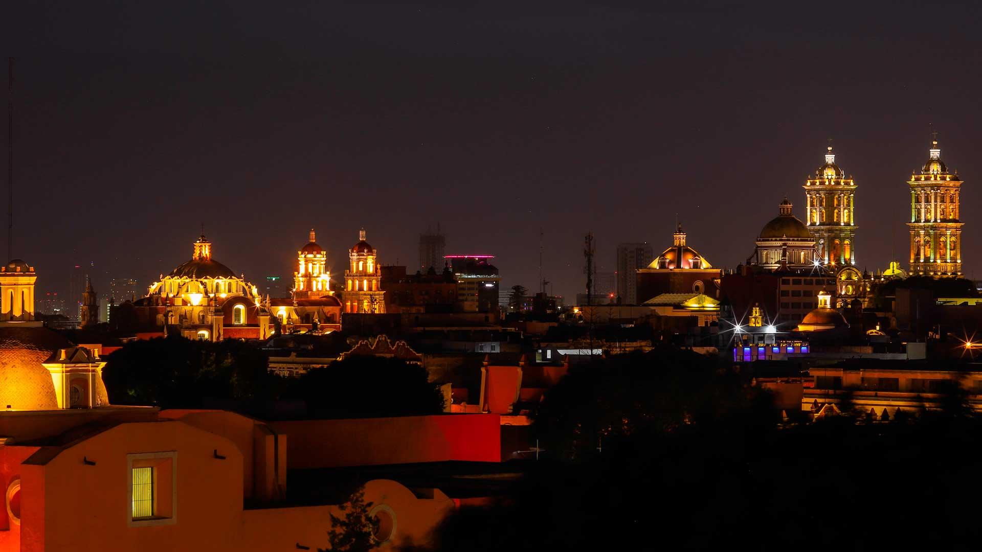Las raíces de Puebla en postales