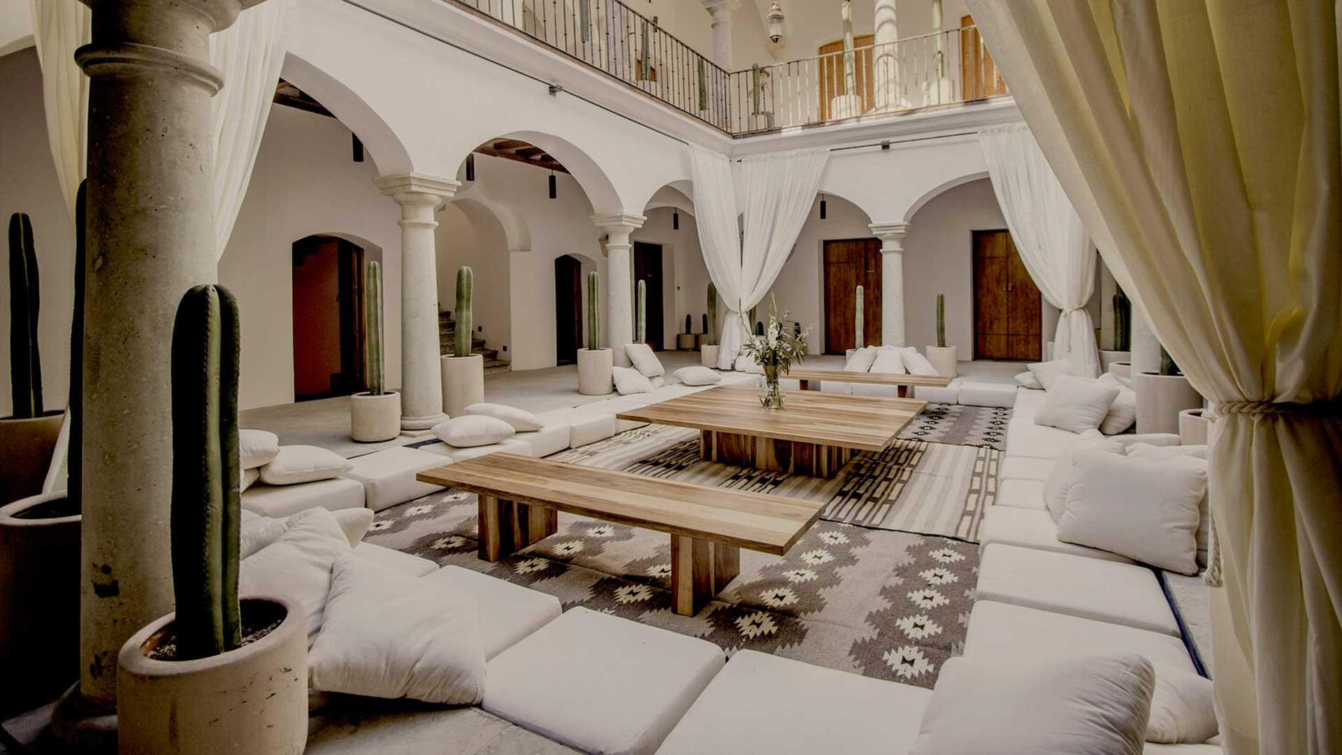 Hotel Sin Nombre: arte y diseño en el centro de Oaxaca