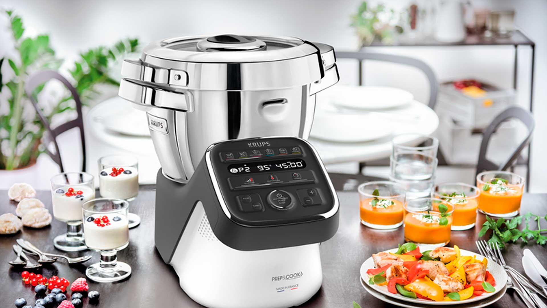 Conoce al robot de cocinaPrep&Cook deKrups