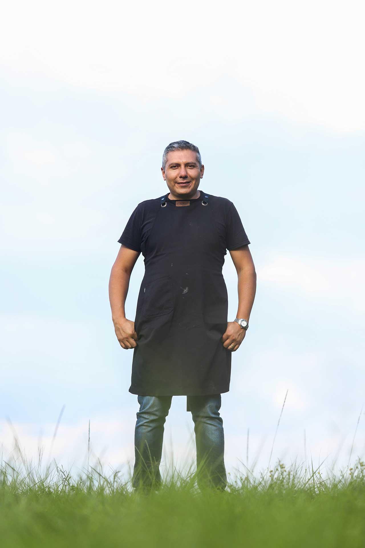 Chef Jorge Córcega