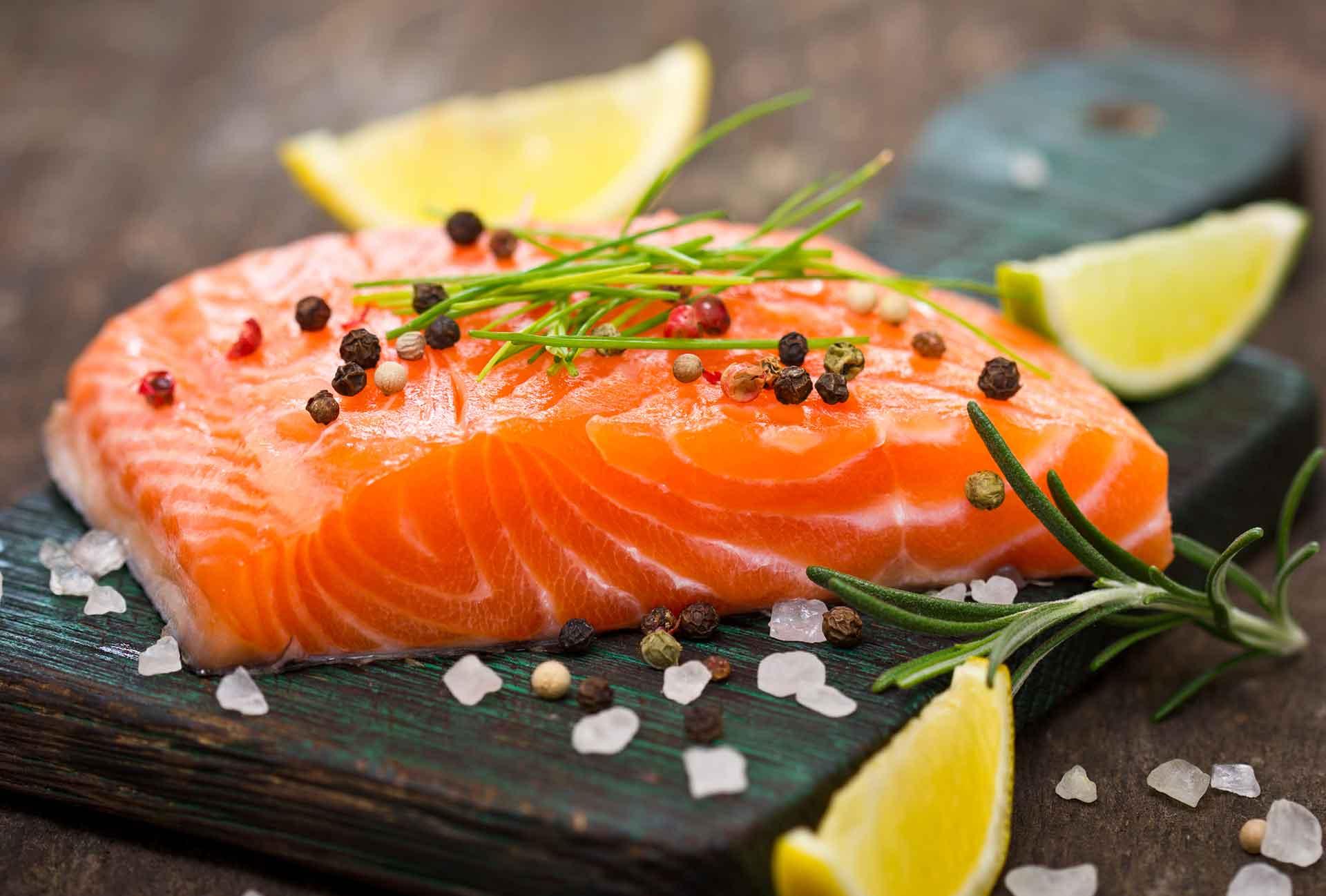 Receta de salmón