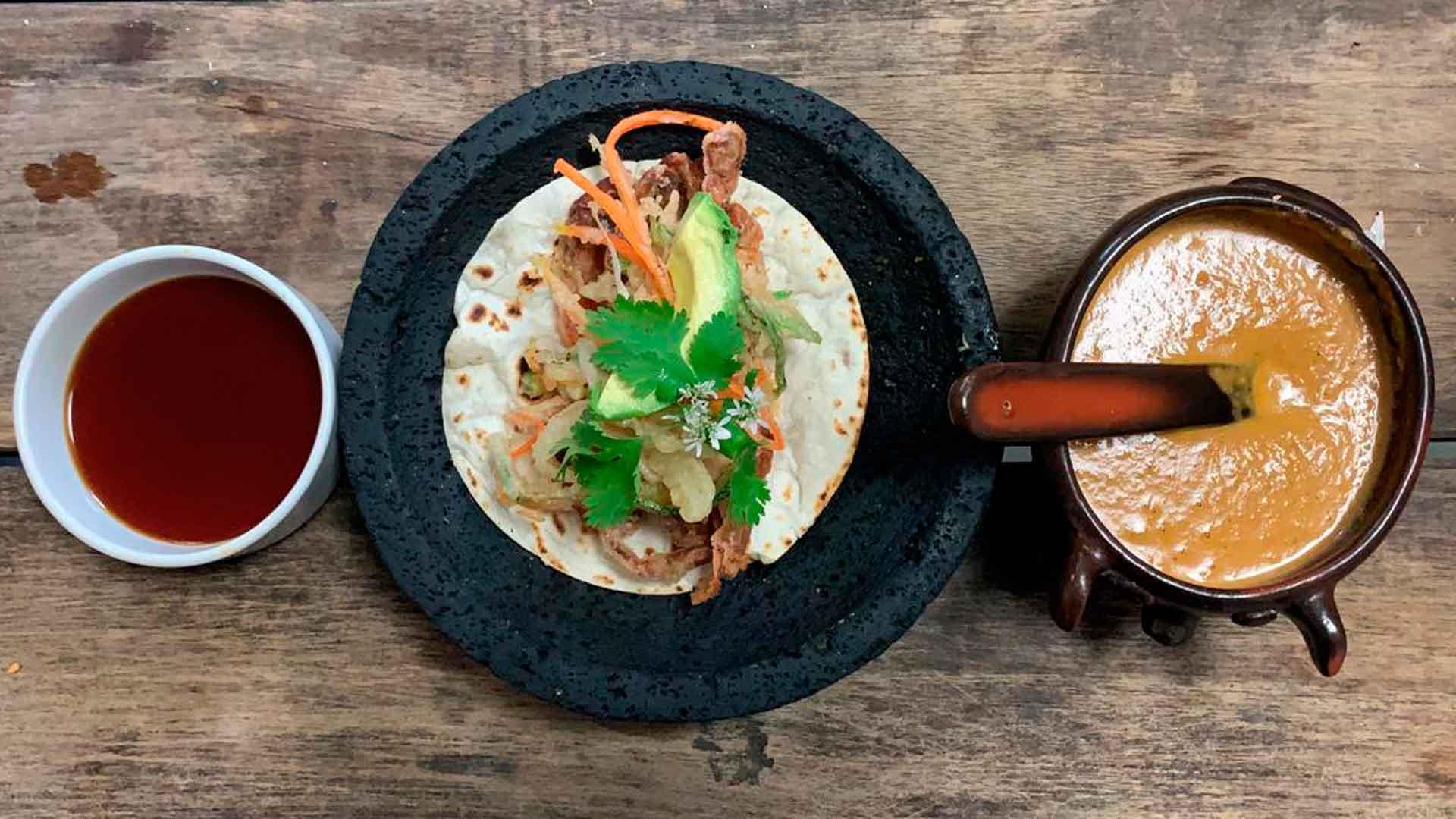 Receta de tacos de jaiba al estilo del chef Palazuelos y Koblenz