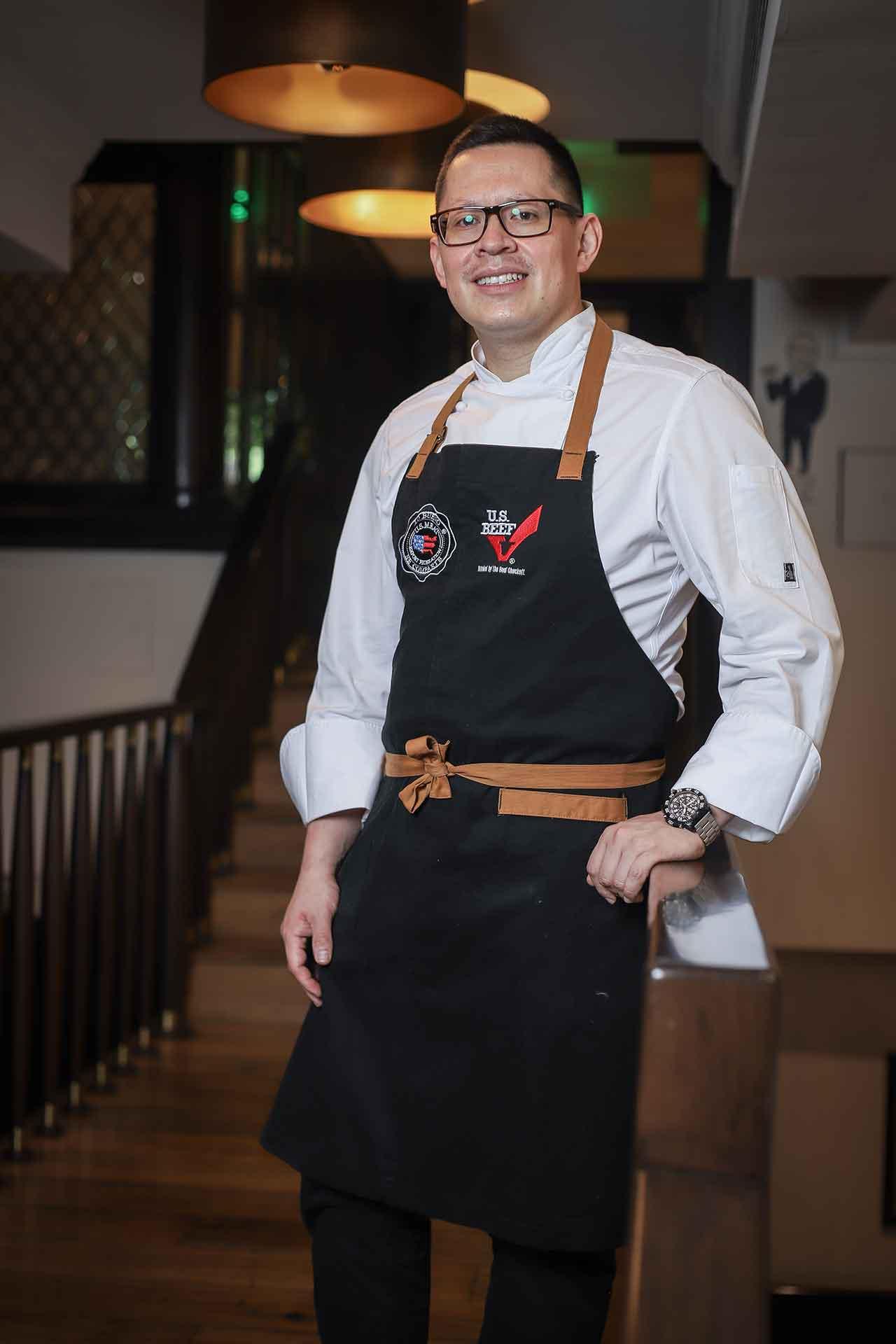 Chef José Luis Sánchez Ronquillo