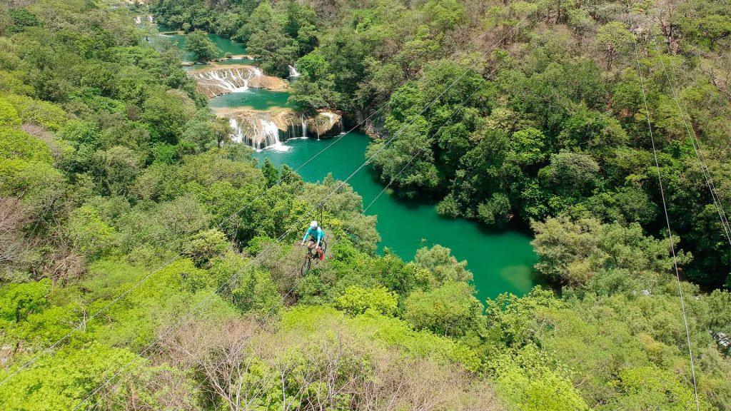 Las 5 tirolesas más emocionantes de México