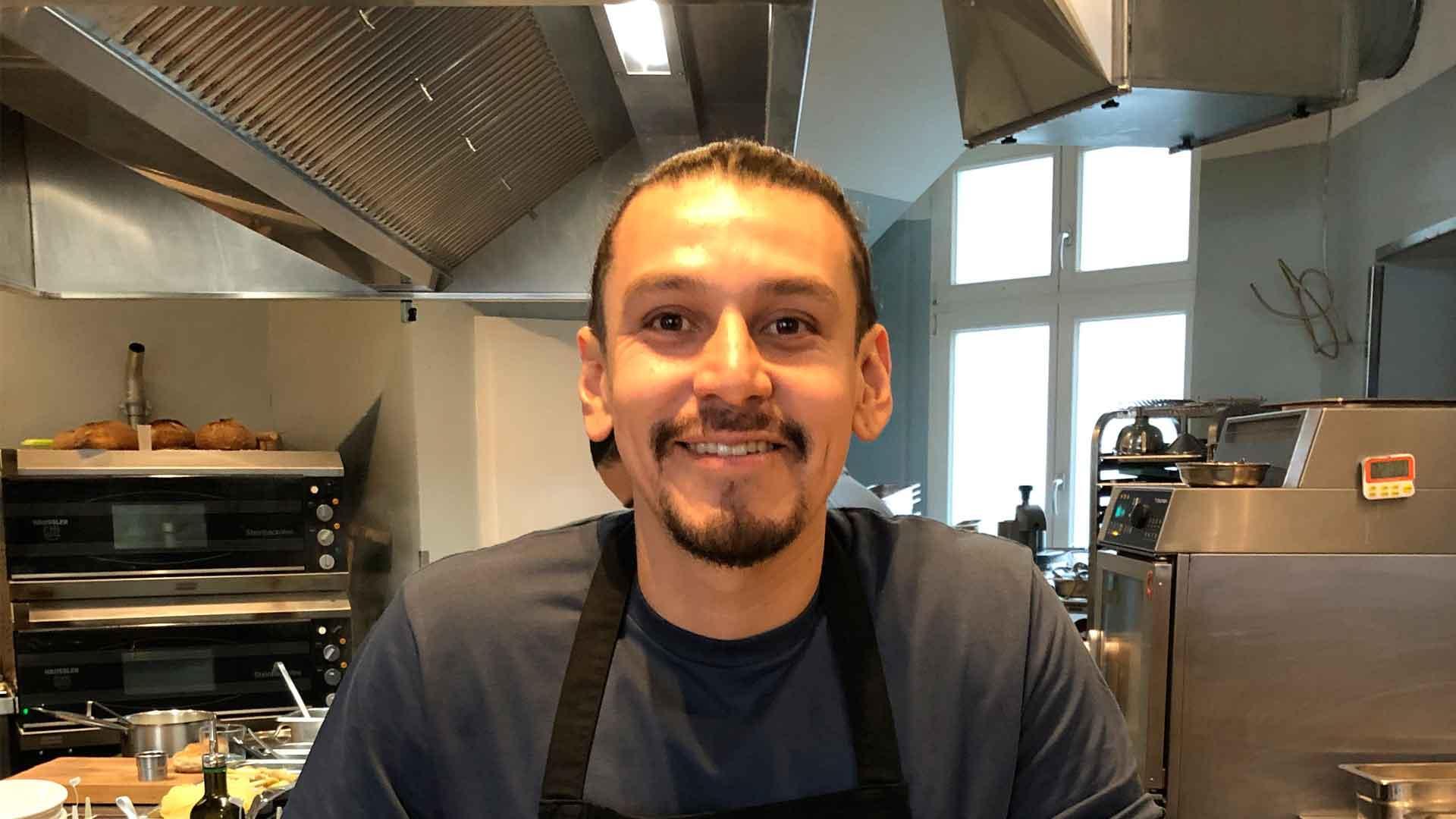 Chef Yahir Franco: un mexicano en el primer restaurante vegano y zero-waste del mundo