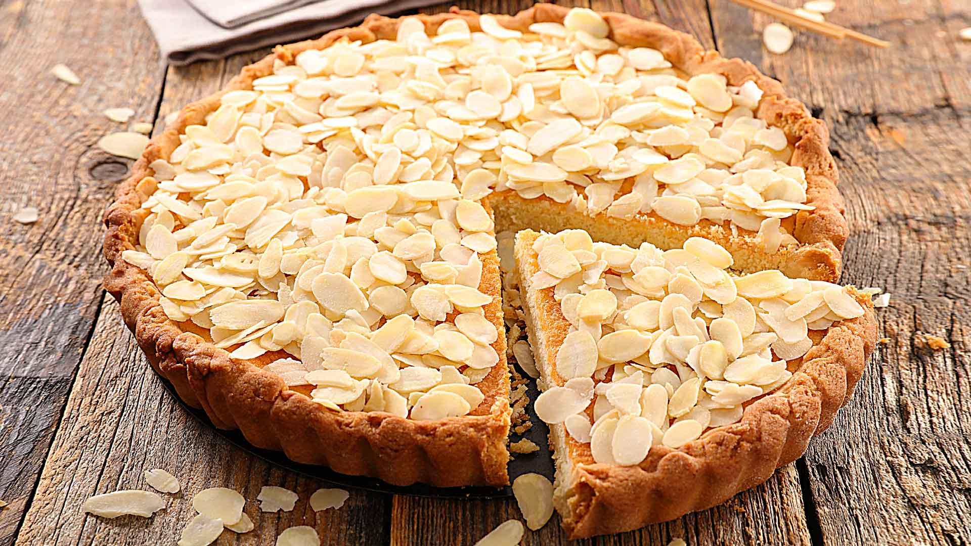 Receta de tarta de almendras de la chef Fernanda Prado
