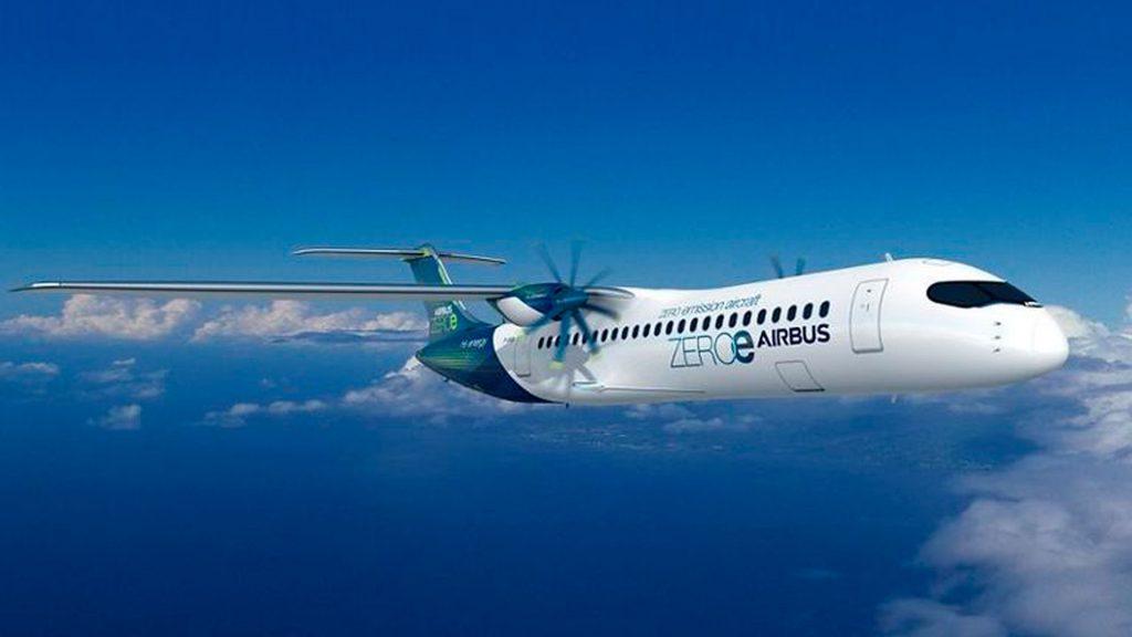 ZEROe, los primeros aviones con cero emisiones contaminantes