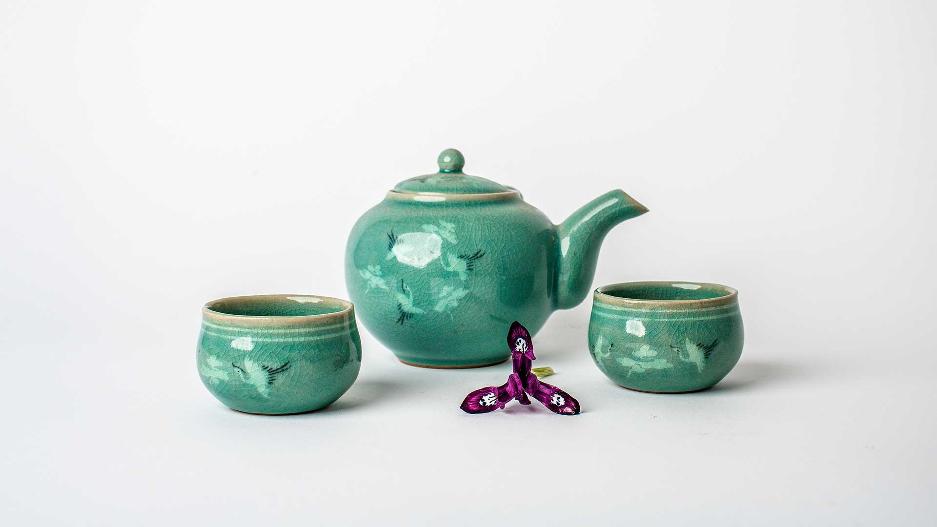 Celadón… la quintaesencia para la vajilla de té