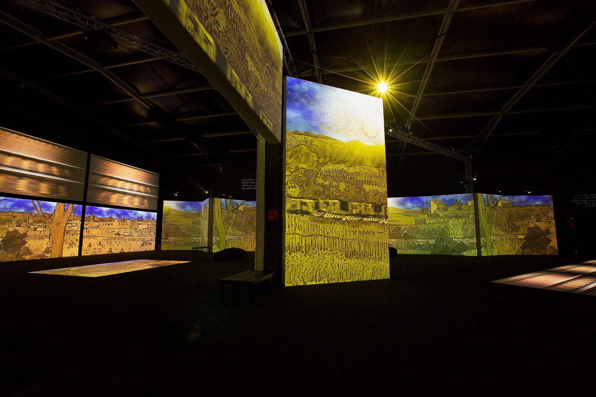 Eventos imperdibles de octubre, Van Gogh Alive